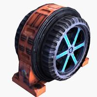 3d power generator