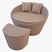 max wicker sofa