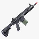 assault rifle 3D models