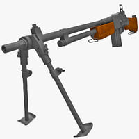 3d m1918a2 browning automatic rifle gun
