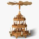 christmas pyramid 3D models