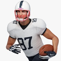 Football Player White Male