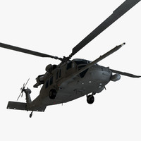 3d pave sikorsky helicopter model