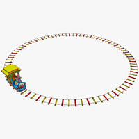Toy Train with  Track