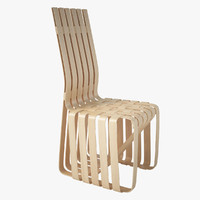 - knoll sticking chair 3d max