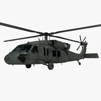 uh-60m blackhawk military helicopter max