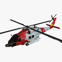 Jayhawk Coast Guard Helicopter
