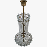 3d model chandelier lighting