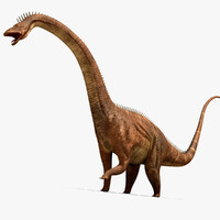 diplodocus rigging animation 3d max