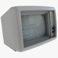 c4d old ibm monitor
