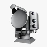 Reutech RTS 6400 Optronics Radar Tracker