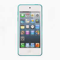 3d model apple ipod touch 5g