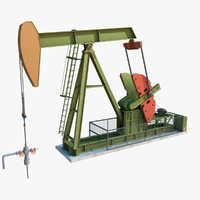 Animated Oil Pump