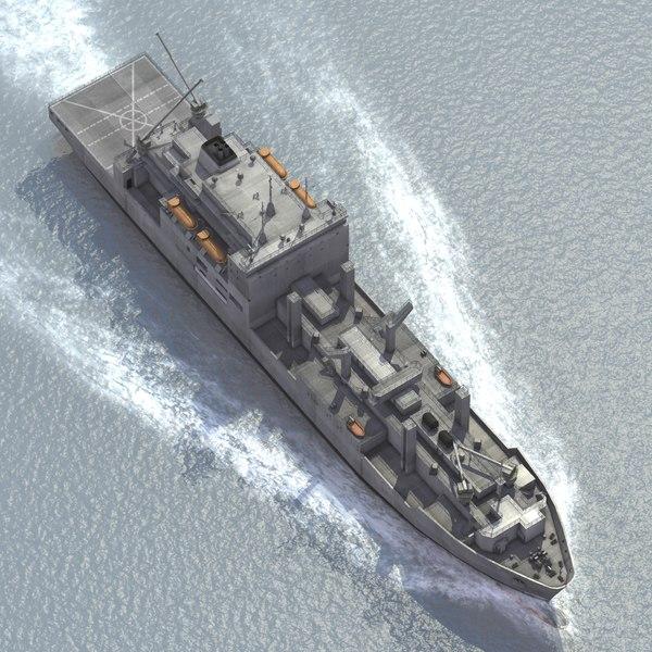 USS Carl Brashear T-AKE 7