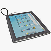 3d tablet le pan tc model