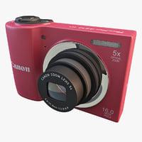 canon powershot a810 camera max