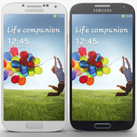 Samsung Galaxy S4 White Blue