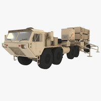 heavy truck hemtt patriot 3ds