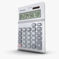 3d obj calculator number