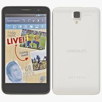 3d model alcatel touch scribe hd