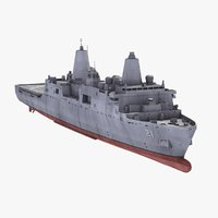 uss new york transport 3d 3ds