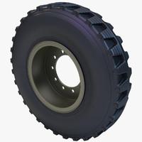 casspir wheel 3d model