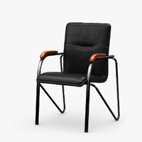 3d model office chair samba