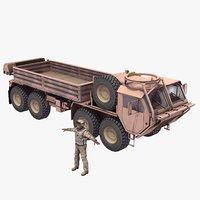 m977 hemtt driver transport 3d obj