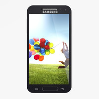 3d samsung galaxy s4 model