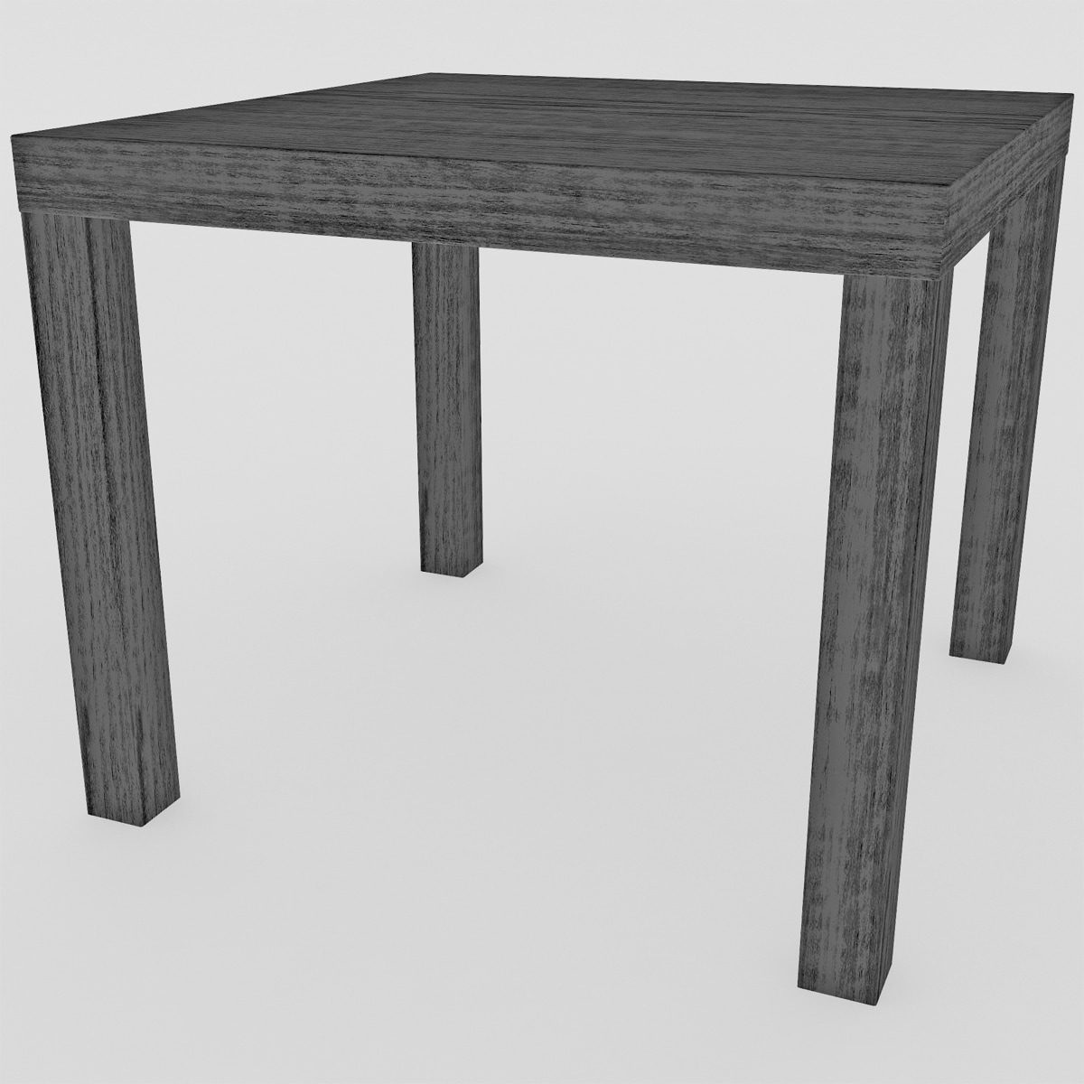 ikea lack table 3d model. Black Bedroom Furniture Sets. Home Design Ideas