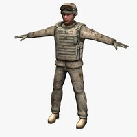 marine corps soldier d 3ds