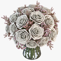 3d flower bouquet