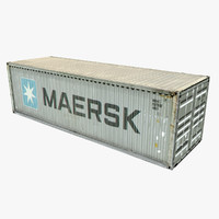 3d model container