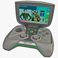 Portable Handheld PC NVIDIA Project Shield