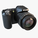 Nikon Coolpix 3D models