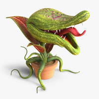 plant monster 3D models