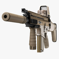 Assault Rifle FN SCAR-H
