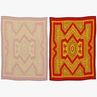 oriental rug 3d model
