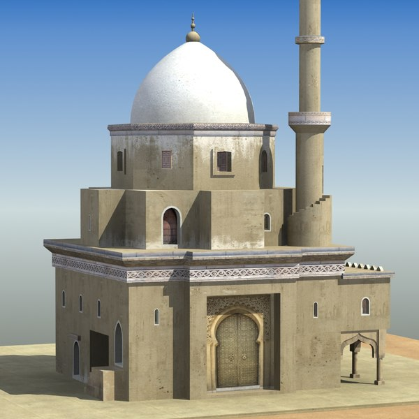 3ds max ic mosque