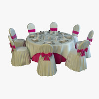 Ballroom Table Arrangement