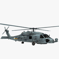 max sh-60b military helicopter