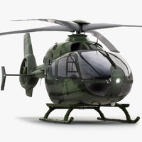 Eurocopter EC 135 Military Green