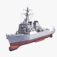 USS Arleigh Burke DDG51