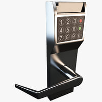 3d electronic door lock