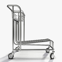 luggage trolley 3D models