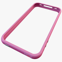 iPhone 4 Bumper Pink