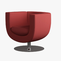 swivel chair 3d max