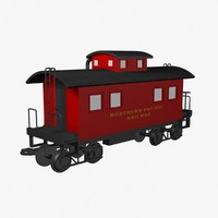 lwo caboose train