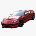 supercar 3D models
