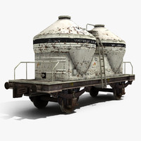 Cement Tank Wagon